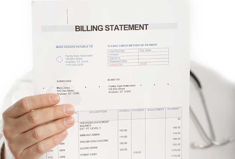 Billing and Coding Tag