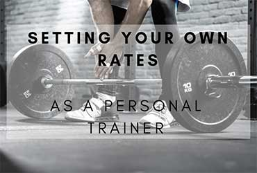 Set Your Own Rates as a Trainer
