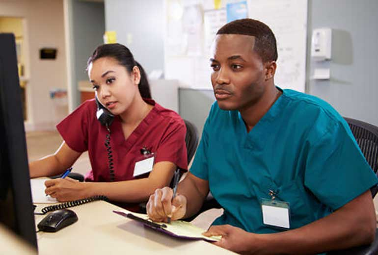 Image result for images of medical coding and billing students