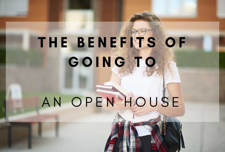 Four Reasons to Attend a College Open House