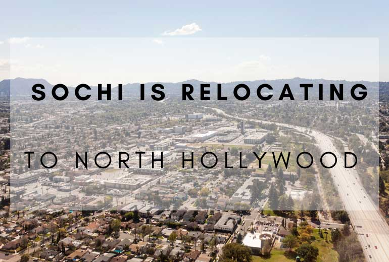 Sochi is Relocating