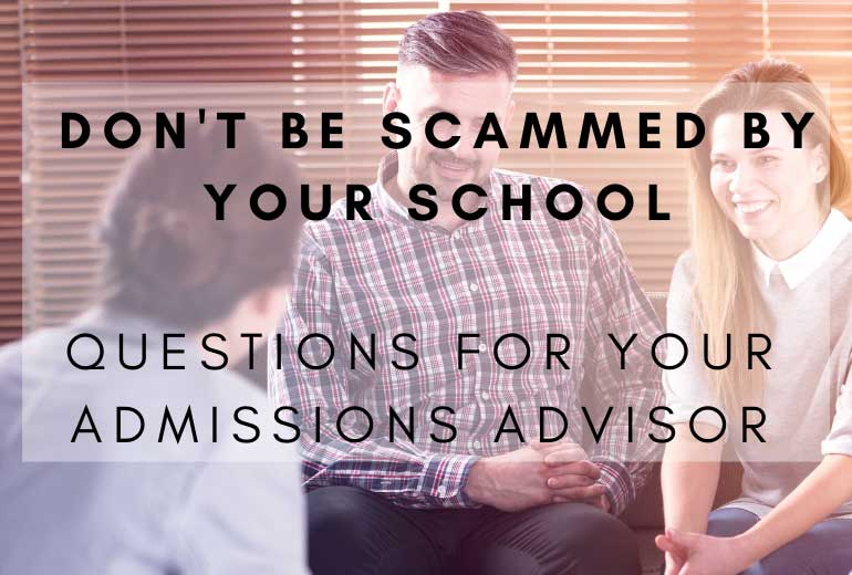 Don't Get Scammed by Your School