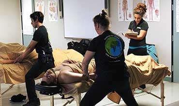 Massage Therapy School Students